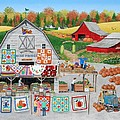 Autumn Quilts by Wilfrido Limvalencia