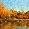 Autumn Reflections by Angela Stanton