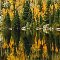 Autumn Reflections At Bear Lake by Brian Kerls