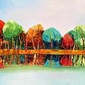 Autumn Reflections by Misuk Jenkins