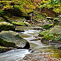 Autumn River by Frozen in Time Fine Art Photography