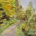 Autumn Riverside Walk Version1 by Martin Howard
