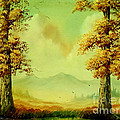 Autumn Scene by Amede Doualle