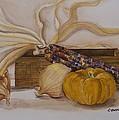 Autumn Still Life by Rebecca Matthews