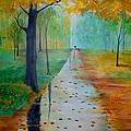 Autumn Stroll by Gary Smith