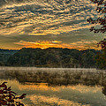 Autumn Sunrise At The Lake by Martin Belan