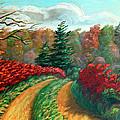 Autumn Trail by Hanne Lore Koehler
