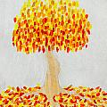 Autumn Tree by Stefanie Forck