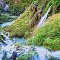 Autumn Valley Waterfalls by Artur Bogacki