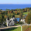 Autumn View On Mackinac Island by Jackson Pearson