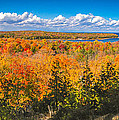 Autumn Vistas Of Nicolet Bay by Mark David Zahn