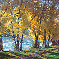 Autumn Walk by Ylli Haruni