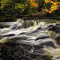 Autumn Waterfall by Kevin Clifford