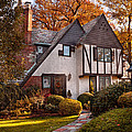 Autumn - Westfield Nj - Visting Grandpa's  by Mike Savad