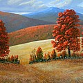 Autumns Glory by Frank Wilson