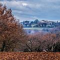 Autumns Leaves Winters Clouds by W Chris Fooshee