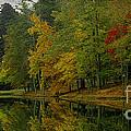 Autumns Reflection by James C Thomas