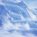Avalanche At A Distance by Heath Korvola