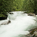 Avalanche Creek In Spring Run Off by Jeff Swan