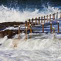 Avalon Rockpool In A Storm by Sheila Smart Fine Art Photography