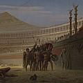 Ave Caesar Morituri Te Salutant , 1859 by Jean Leon Gerome
