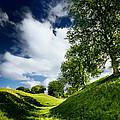 Avebury Hillside by Julian Cook