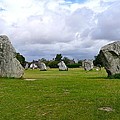 Avebury's Southern Entrance Stones by Denise Mazzocco