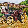 Aveling And Porter Showmans Tractor by Paul Gulliver