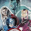 Avengers by Jeremy Moore