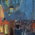 Avenue De Clichy Paris by Louis Anquetin