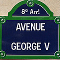 Avenue George Le Cinq  by Ira Shander
