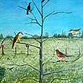 Aves En Comarca Del Sol by Silvana Miroslava Albano