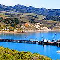 Avila Beach California Fishing Pier by Tap On Photo