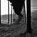 Avon Pier Bxw 7/29 by Mark Lemmon