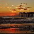 Avon Pier Hatteras Sunrise 1 1/15 by Mark Lemmon