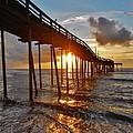 Avon Pier Sunrise 5 8/06 by Mark Lemmon
