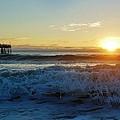Avon Pier Sunrise 6 10/17 by Mark Lemmon
