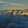 Avon Pier Sunrise Wave Splash 9/08 by Mark Lemmon