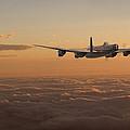 Avro Lancaster - Homeward by Pat Speirs
