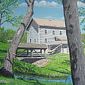 Award-winning Painting Of Beckman's Mill by Norm Starks
