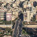 Ayalon Freeway And The Halacha Bridge by Ofir Ben Tov