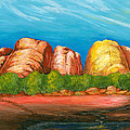 Ayers Rock End by Carlene Salazar