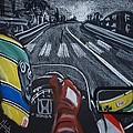 Ayrton Senna On Board At Monaco 89 by Juan Mendez