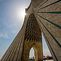 Azadi Tower  Tehran  Iran by Niloufar Hoseinzadeh