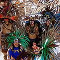 Aztec Performers O'odham Tash Casa Grande Arizona 2006  by David Lee Guss