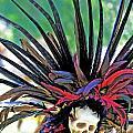 Aztecan Ceremony 15 by Gwyn Newcombe