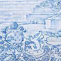 Azulejos Traditional Tiles In Porto Portugal by Jacek Malipan