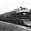 B & O New Diesel Engines by Underwood Archives
