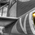 B-17 Bomber Tail by David Dufresne