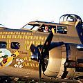 B-17 Nine O Nine by Richard Sherman